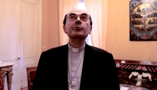 Monseigneur Barbarin (capture d'écran)