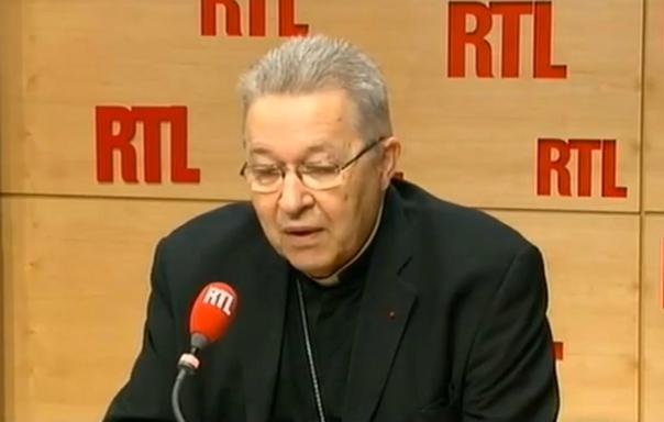 André Vingt-Trois (capture d'écran)