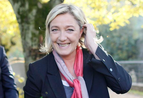 Marine Le Pen en novembre 2012 (Robert Pratta/Reuters)