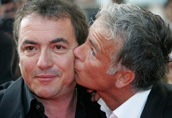 Fabien Onteniente et Franck Dubosc en 2006 (Vincent Kessler/Reuters)