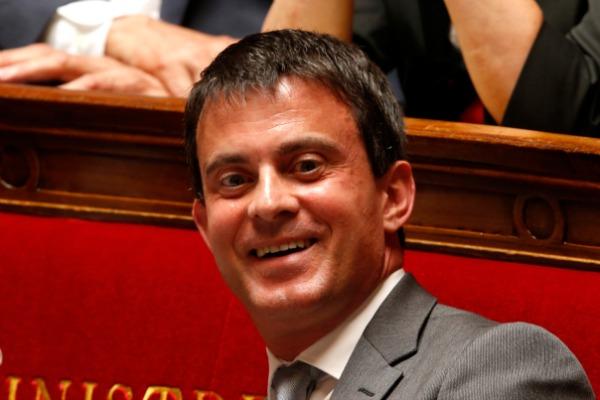 Manuel Valls (Reuters/Charles Platiau)